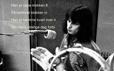 Peter Belli synger på dansk