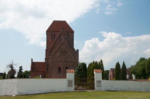 Kalkmalerier – 1; Tirsted Kirke