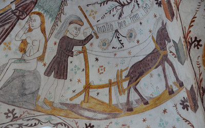 Kalkmalerier – 2; Fanefjord og Elmelunde