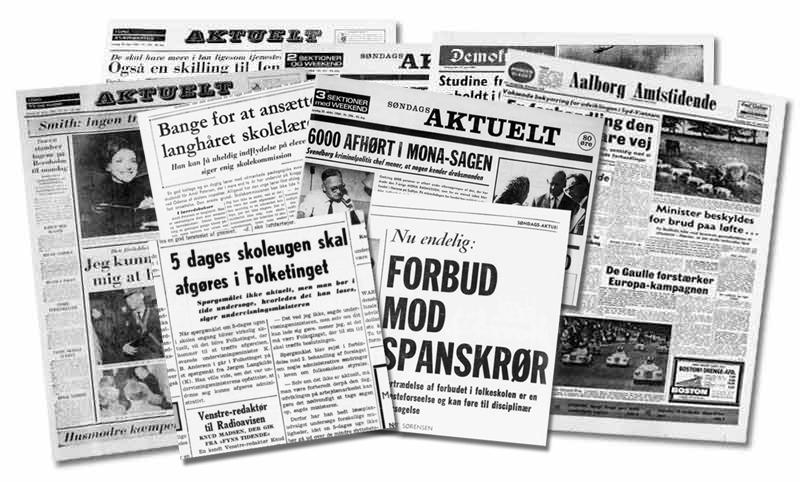 Gamle aviser i en corona-tid
